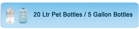 Pet Bubble Tops for Packaged Drinking water